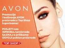 Promocija i testiranje Avon proizvoda u Top Shop trgovinama!