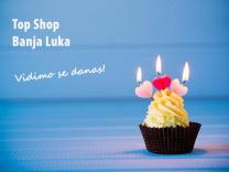 Top Shop Banja Luka III slavi svoj 3.rođendan