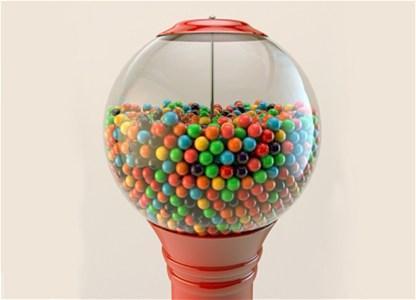 Žvakaće gume tope kilograme