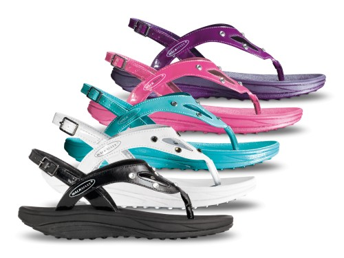 Fitness sandale sa kristalima Walkmaxx
