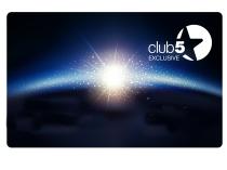 Kartica Club 5* - obnovite vaše članstvo