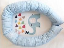 Happy Kids baby set 3u1 - slonić
