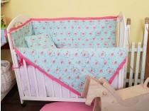 Happy Kids Flamingo 4u1 set za bebe
