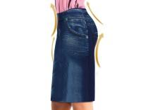 Slim Jeggings jeans suknja