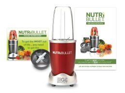 Delimano Nutribullet crveni ekstraktor hranjivih sastojaka