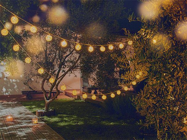 Dormeo Cozy Rattan Lights String